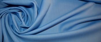 Schurwollmischung - himmelblau