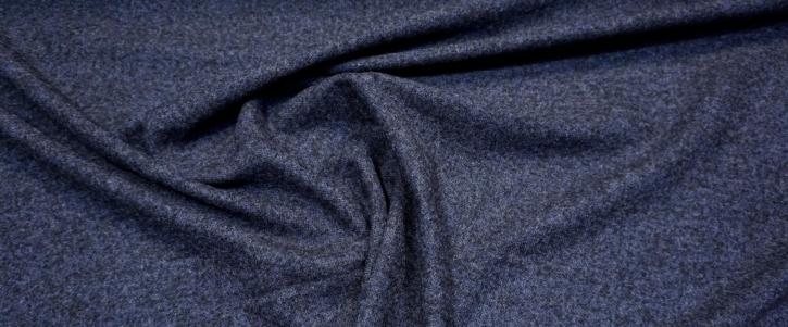 Schurwolle mit Alpaka - blau/schwarz