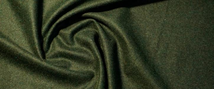 Schurwolle mit Alpaka - waldgrün