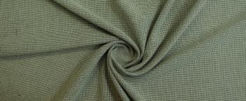 Schurwollmischung - beige/schwarz