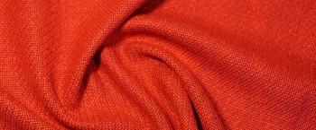 Schurwolle mit Viskose - karminrot