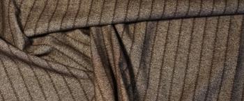 Schurwolle mit Baumwolle - Streifen