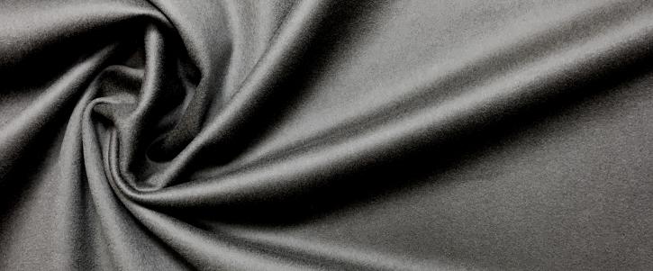 Loden, Kaschmirmix - schwarz