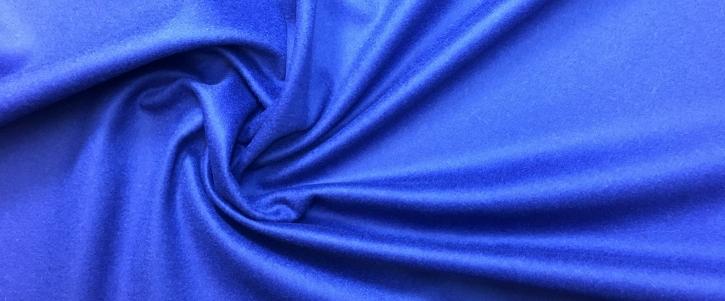 Loden, Kaschmirmix - blau