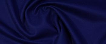 Schurwolle mit Kaschmir - royalblau