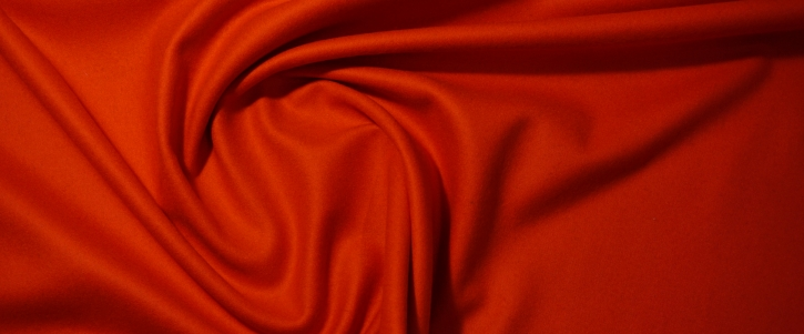 Kaschmirmischung - orangerot