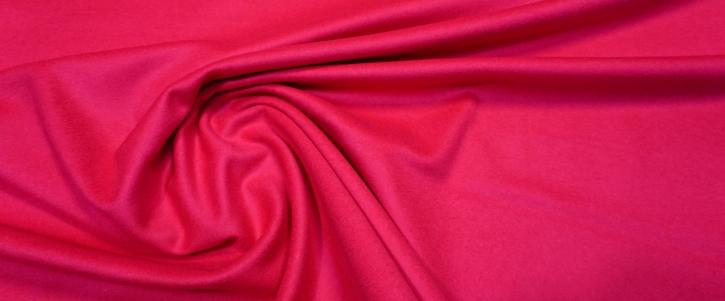 Schurwolle mit Kaschmir - pink