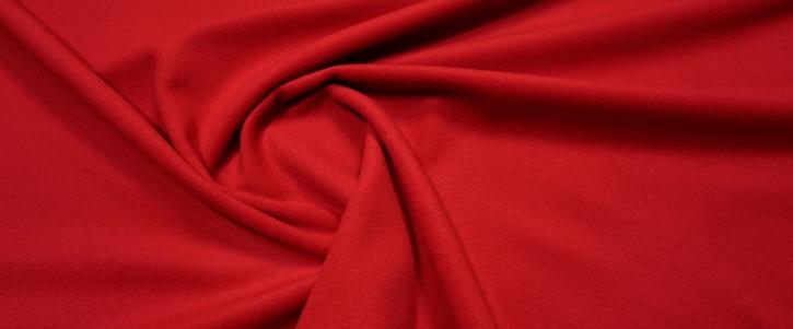 Schurwolle mit Kaschmir - rot