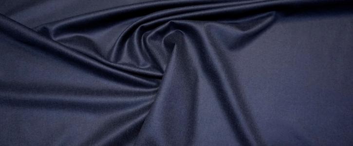Schurwolle mit Kaschmir - dunkelblau