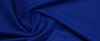 Mantelvelour - königsblau
