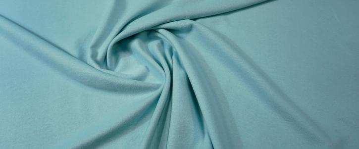 Schurwolle mit Angora - hellblau