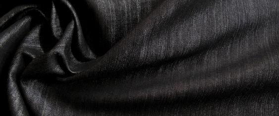 Baumwollmischung - Denimlook
