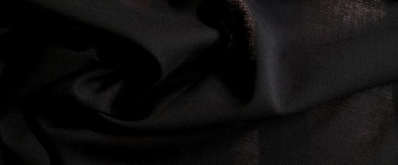 Rest Schurwollmischung - schwarz