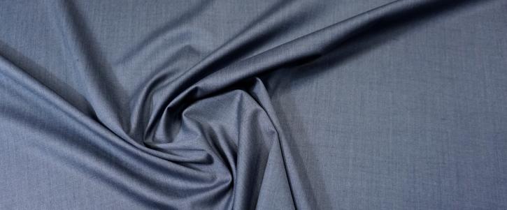 Wolle mit Seide - jeansblau