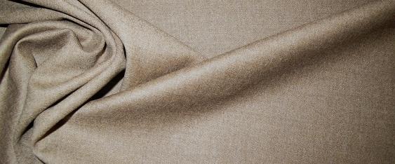 Schurwolle - beige und grau