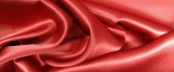 Seide in Stretchqualität, rot