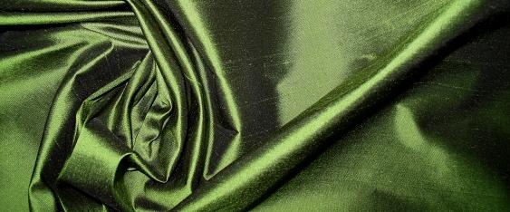 Dupion - olivgrün