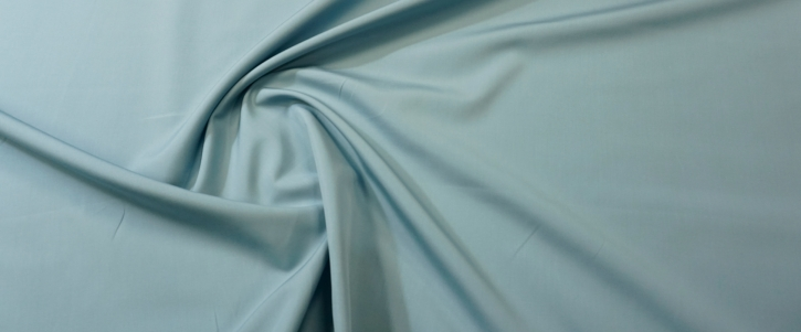 Baumwolle - eisblau
