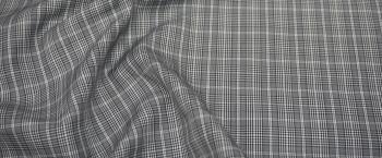Baumwolle - grau/weiß