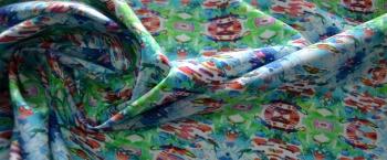 Blumarine - gespiegeltes Batikmuster