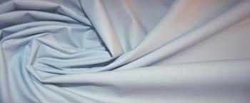 Baumwolle - blaßblau