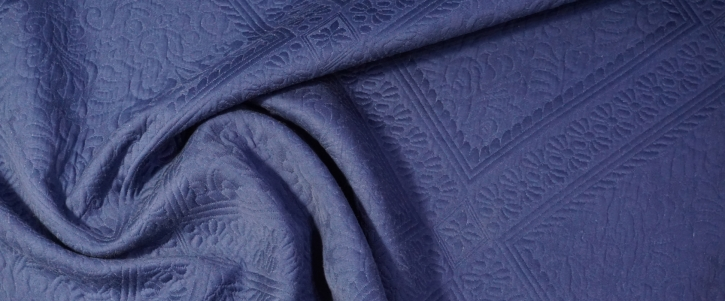 Baumwollcloque - blau