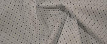 Rest, Baumwolle - Schwertlilien-Print