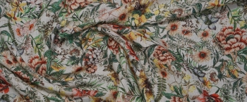 Baumwolle - Blumenwiese