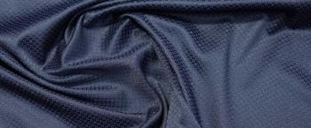 Baumwolljacquard - dunkelblau