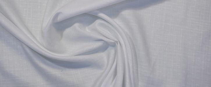 Baumwolljacquard - weiß