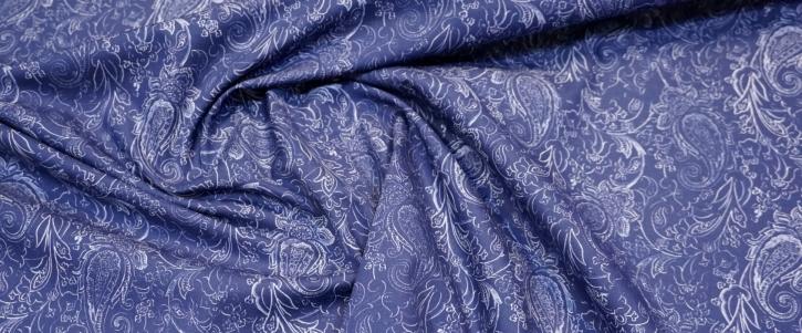 Etro - blau mit Paisley