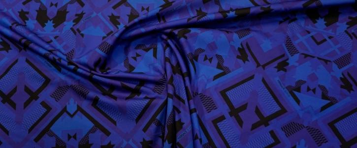 Baumwolle - geometrisches Muster