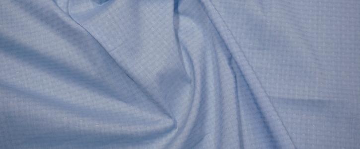 Baumwolljacquard - hellblau