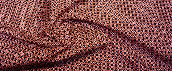 Baumwolle - geometrisch