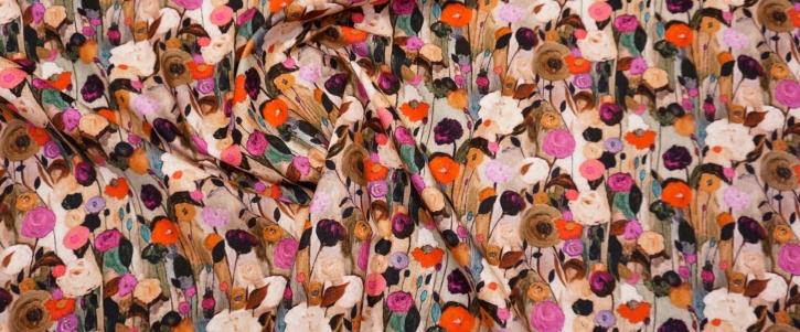 Feincord - Blumen