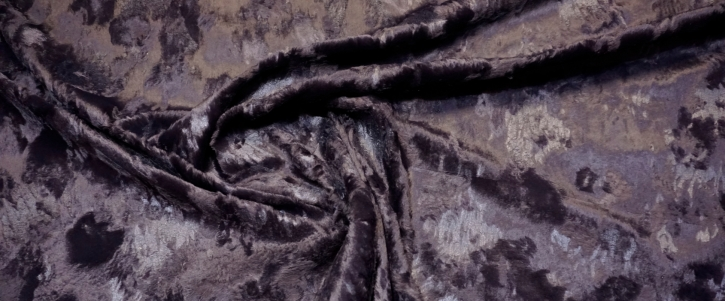 Baumwollmix - Vintage-Look, schwarz