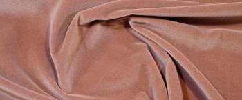 Baumwollsamt - puder-rosa