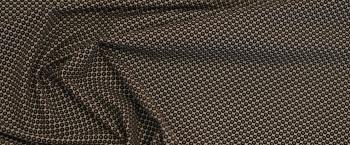 Rest Hemden- und Blusenqualität - kleine Kreise