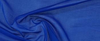 Baumwollbatist - königsblau