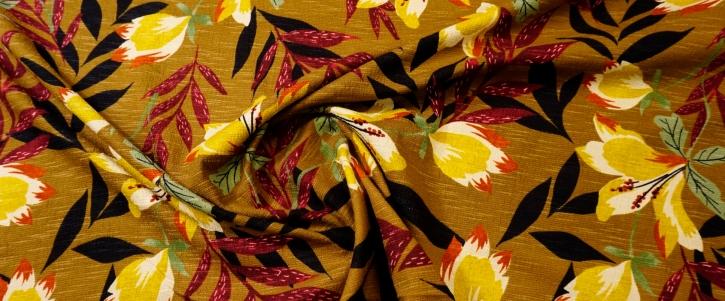 Baumwollmix - floral