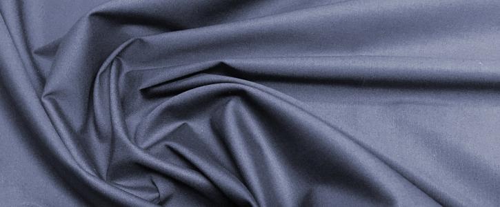 leichter Baumwollstretch - dunkelblau