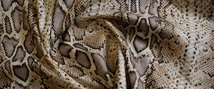 Rest, Baumwollstretch - Snake