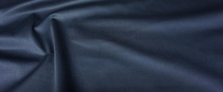 Satin in Stretchqualität - nachtblau