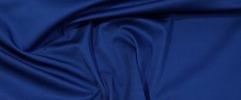 Baumwollstretch - königsblau