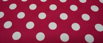 Punkte auf pink