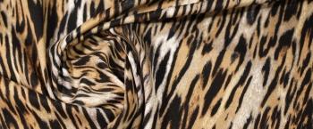 Baumwollstretch - animalprint