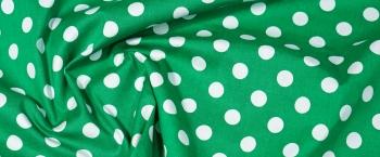 Baumwollstretch - polka dots