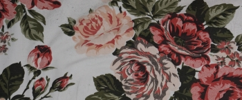 Baumwollstretch - großzügiger Blumenprint