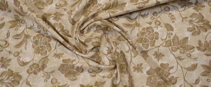 Baumwollstretch - marmorietem Print