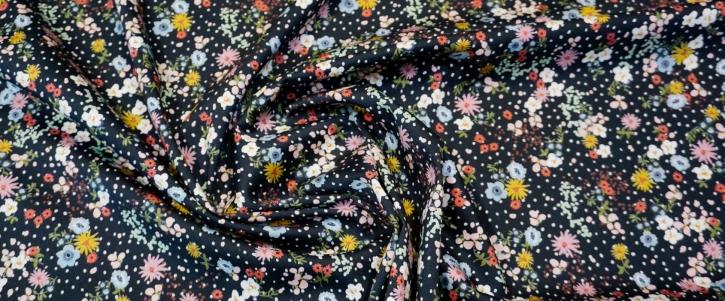 Sander - Blumen auf schwarz